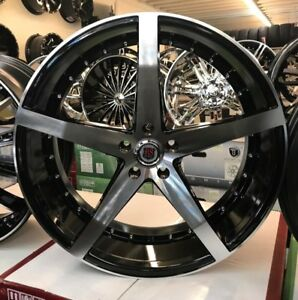 20 Inch Rsw Rims Wheels Tires Asanti Forgiato Dub Velocity Black Kia Hyundai