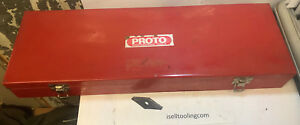 Proto Professional Tools Case Box 5498 20 X 6 5 X 2 5 Used