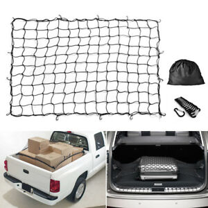 7 X5 Bungee Cargo Net Stretch To 14 X10 For Trailers Pickup Trucks Rooftops