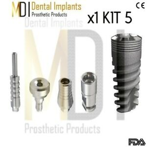 Special 1 Mdi Dental Implant Kit 5 Supply Compatible Internal hex System