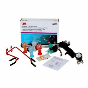 3m 16578 Accuspray One Spray Gun Kit Auto Body Paint System