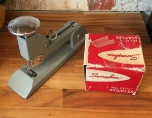 Swingline Heavy Duty Stapler No 13 With 5000 No 13 1 2 Staples All Made In Usa