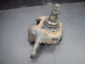 I357 Front Left Knuckle Spindle Toro Workman 3200