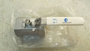 Voyager 2 One Piece Reduced Port Stainless Steel Ball Valve Handle Ln 190b c3