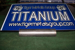 Grade 5 6al 4v Titanium Round Bar 1 875 Diameter X 7 75 Length 455 As