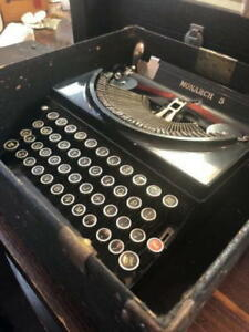 Refurvintage Remington Monarch 5 Manual Typewriter wow Perfect Working Condition