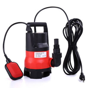 Water Pump 2000gph Submersible Clean dirty 1 2hp Swimming Pool Pond Flood Drain