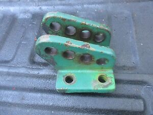 1966 Oliver 1850 1800 Diesel Tractor 3 Point Top Hitch Bracket Free Ship 104617a