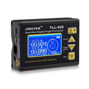 Biaxial Electronic Digital Level Instrument Tilt Instrument Angle Meter Tll 90s