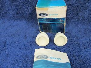 1958 1959 1960 Ford Truck Window Crank Handle Knobs Pair Nos Ford 716