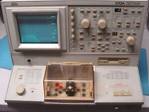 Tektronix 370a Programmable Curve Tracer W Extras Nist Calibrated