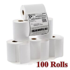 Dymo 100 Rolls 4x6 Direct Thermal Shipping Address Labels Compatible 1744907 4xl