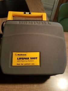 Medtronic Lifepak 500t Aed Training System No Battery In Good Condition