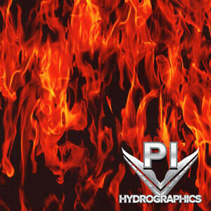 Hydrographic Film Hydro Dipping Water Transfer Printing True Flames Ll135