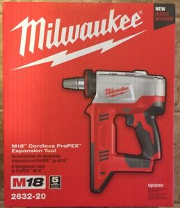 New Milwaukee M18 Cordless Propex Expansion Tool 2632 20 tool Only