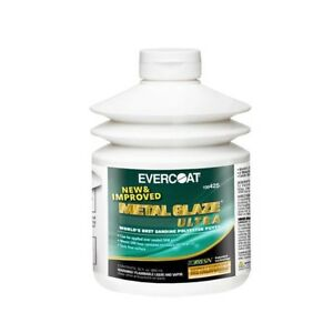 Evercoat 425 Metal Glaze Ultra Polyester Body Sanding Putty 30 Fl Oz Pump Bottle