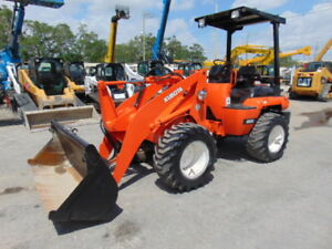 2004 Kubota R520 Articulated Forestry Landscaping Wheel Front End Loader