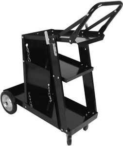 Home Welder Welding Cart Universal Storage For Soldering Tanks And Accessories