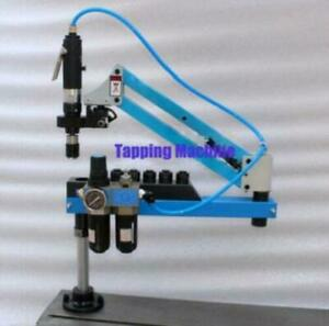 Universal Flexible Arm Pneumatic Air Tapping Machine 360 Angle 1000mm M3 m16 E