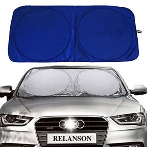 Sun Shade For Car Windshield Vehicle Cool Uv Ray Protector Sunshade 59 X31 5
