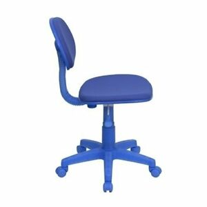 Flash Furniture Blue Fabric Ergonomic Task Chair