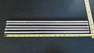 5 Pcs 3 8 Inch Dia 17 1 8 Long 304 Stainless Steel Round Bar Lathe Rod Stock