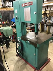 Powermatic 87 Metal Or Wood Bandsaw rebuilt