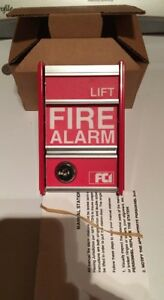 Fci Fire Alarm Pull Station Ms 2 Toggle Switch New