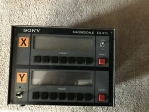 Sony Magnescale Lh30 2 Digital Readout
