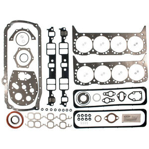 Clevite Mahle 953418 Engine Kit Gasket Set 1987 1995 Small Block Chevy 350ci 5