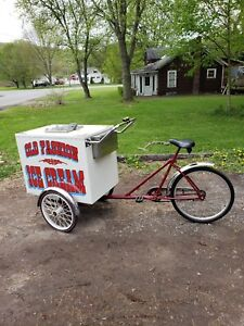 Fully Restored Antique Ice Cream Vending Bike Bicycle