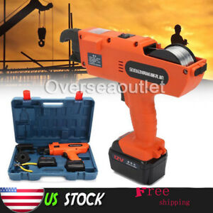 Automatic Handheld Rebar Tier Tool Building Tying Machine Strapping 6mm-25mm