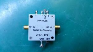 Mini circuits Zfat 124 Precision Digital Step Attenuator