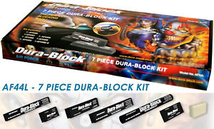Dura Block 44l 7 Piece Stick It Auto Body Sanding Block Kit W Soap Af44l