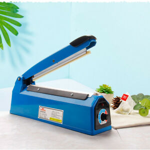 12 300mm Impulse Sealer Hand Heat Sealing Machine Poly Plastic Bag Packing Tool