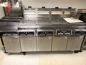 Frymaster Gas Fryer Model Fmh 250 Csd
