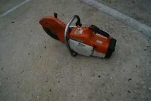 Stihl Ts400 Gas Powered Concrete Cut of Saw