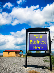 Outdoor Commercial Sign Made In Usa Custom To Your Business Name