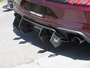Ford Mustang Gt Hardcore Rear Diffuser 2018 21