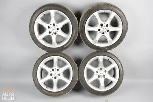 Mercedes W203 C230 C350 Rim Rims Wheel Set 7 5x17 8 5x17 Staggered Sport Oem