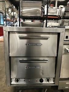 Bakers Pride Countertop Pizza Oven Model P44 New Stones Tested