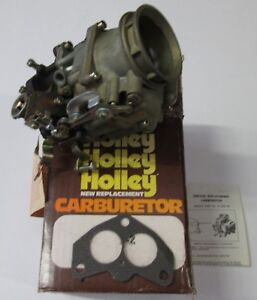 1953 1955 Ford Car New Holley V 8 Replacement Carburetor