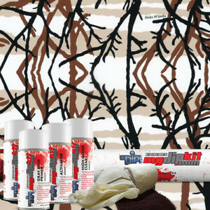 Hydro Dipping Water Transfer Printing Hydrographic Dip Kit Stick N Limbs Rc5003