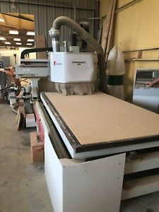 Conquest 250 Cnc Router Cosmec 2001 W Becker Vacuum Pump