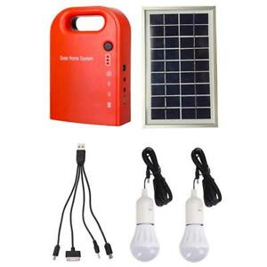 Gutreise Portable Home Outdoor Small Dc Solar Panels Charging Generator
