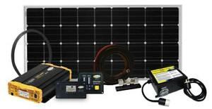 Go Power Weekender Sw Complete Solar And Inverter System With 160 Watts Of
