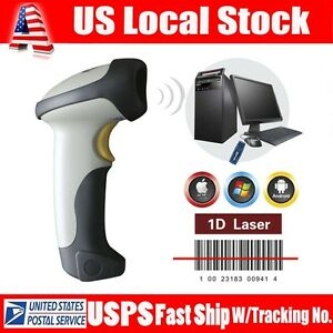 Wired Usb Wireless Bluetooth Barcode Scanner Bar Code Reade For Ios Android