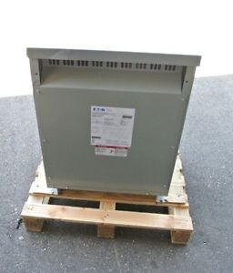 Eaton V48m28t30ee Dry type Distribution Tp 1 Delta Transformer 3ph 30kva 480v