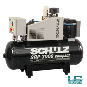 Air Compressor Rotary 7 5 Hp 1 Ph 230v 60 Gallon Tank