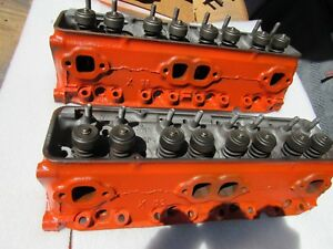 1958 Corvette 58x 3748770 Early Small Block Cylinder Heads 283 770